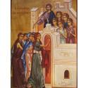 Ikona deseti panen z Kristova podobenství