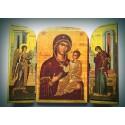 Triptych - Panna Maria s Kristem