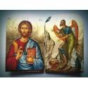 Diptych - Kristus s Janem Křtitelem