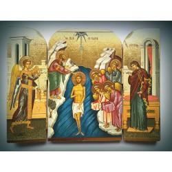 Triptych - Křest Páně