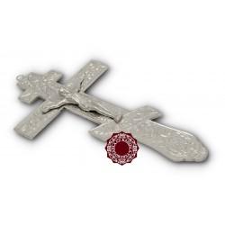 Ruský kříž na žehnání - stříbrný