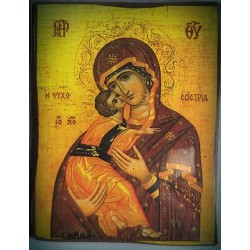 Magnetek s ikonou žehnajícího Krista