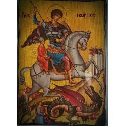 Magnetka s ikonou sv. Jiří