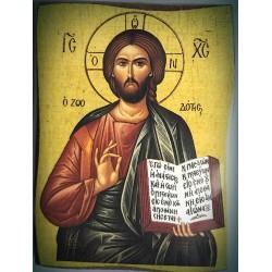 Magnetka s ikonou Krista