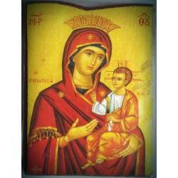 Magnetka s ikonou Pannou Marii královské