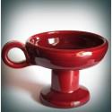 Kadidelnice keramická červená