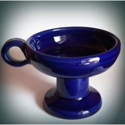 Kadidelnice keramická modrá