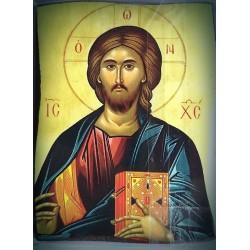 Magnetka s ikonou žehnajícího Krista II.
