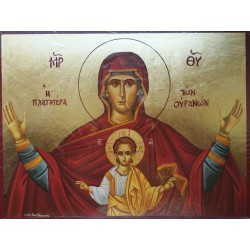 Ikona Panny Marie Prostornější než nebe