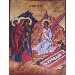 Tři ženy u prázdného hrobu a anděl