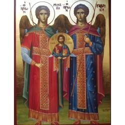 Svatí archandělé Michael a Gabriel