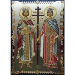 Svatá Helena a Konstantin Veliký  (ruský styl)