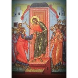Magnetka s ikonou sv. Tomáše a Krista