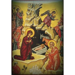 Magnetka s ikonou Narození Páně