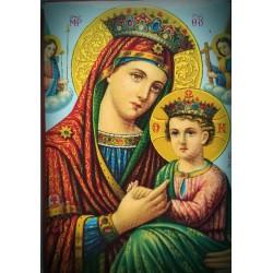Magnetka s ikonou Panny Marie Jeruzalémskou