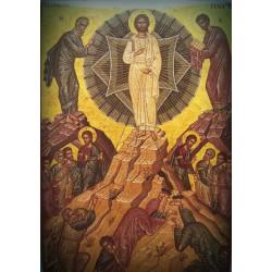 Magnetka s ikonou Křtu Páně