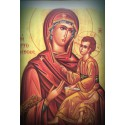 Magnetka s ikonou Panny Marie s Kristem