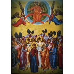 Magnetka s ikonou nanebevzetí Krista