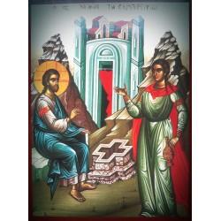 Kristus hovořící se Samařankou