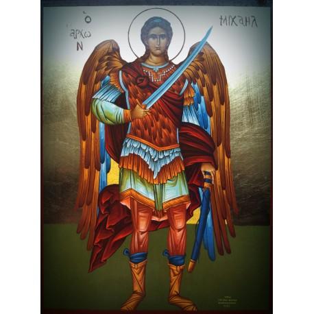 Ikona Archanděla Michaela s mečem