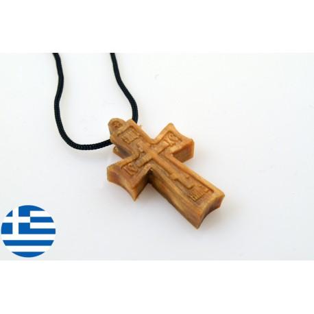 Byzantský kříž na krk z Athosu