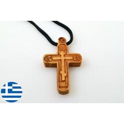 Byzantský kříž na krk ICXC