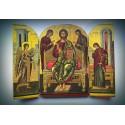 Triptych - Deisis - přímluva svatých