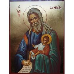 Ikona sv. Simeona s Kristem