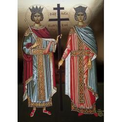 Ikona sv. Konstantina a Heleny