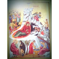 Ikona narození Ježíše Krista III.