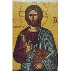 Magnetka s ikonou žehnajícího Krista A