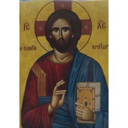 Magnetka s ikonou žehnajícího Krista D