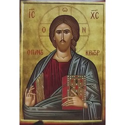 Magnetka s ikonou žehnajícího Krista F