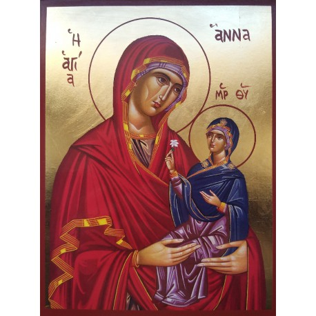 Svatá Anna s Pannou Marií