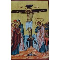 Magnetka s ikonou Ukřižování Krista