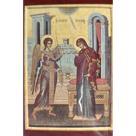 Magnetka s ikonou Přesvaté Bohorodice a Krista Q