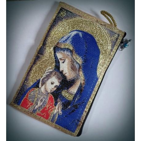Peněženka s byzantskou ikonou Bohorodice F