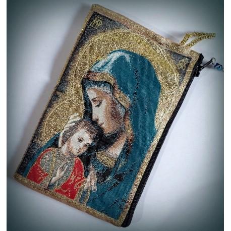 Peněženka s byzantskou ikonou Bohorodice G