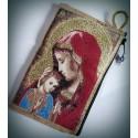 Peněženka s byzantskou ikonou Bohorodice CH