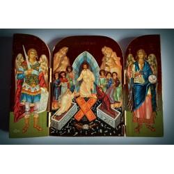 Triptych - Kristův sestup do podsvětí