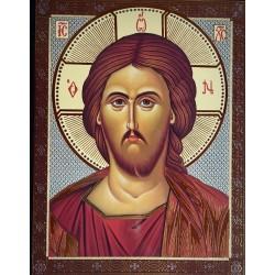Žehnající Kristus Vševládce (ruský styl)