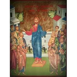 Ikona vyvolení dvanácti učedníků