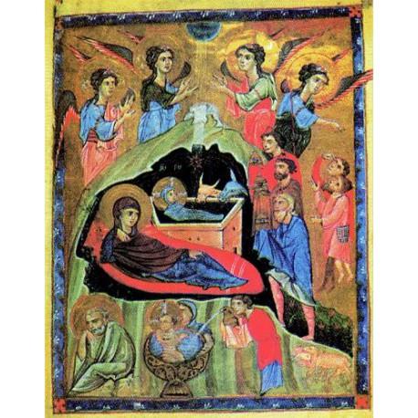 Narození Ježíše Krista - Arménská ikona