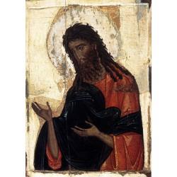 Sv. Jan Křtitel - byzantská ikona