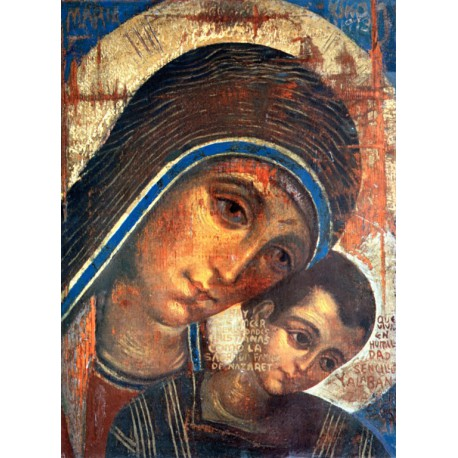 Panna Maria s Ježíšem - Kiko Arguello