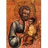 Sv. Josef s Ježíšem - melchitská ikona