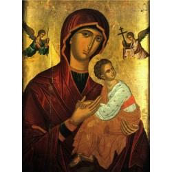 Panna Maria Bolestná (krétská ikona)