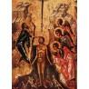 Ikona křtu Páně (byzantská ikona)