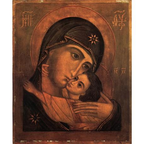 Ikona Bohorodičky s malým Kristem (Pskov)