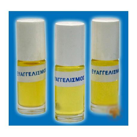 Svatý olej (Evangelismos)– prostředek k duchovní očistě a ochraně